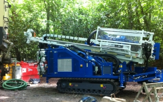 Tracked Drilling Rig