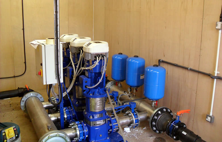 Variable Speed Booster Set