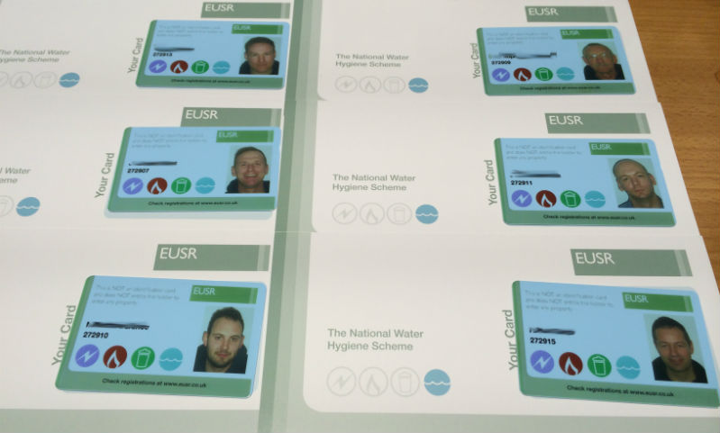 Water Hygiene Cards