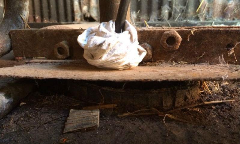 Old Borehole Requiring a Refurb
