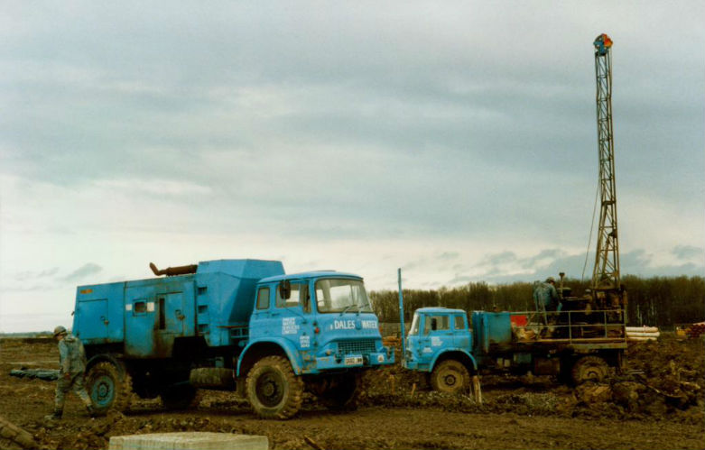 RAF Leeming 1987 Borehole Project