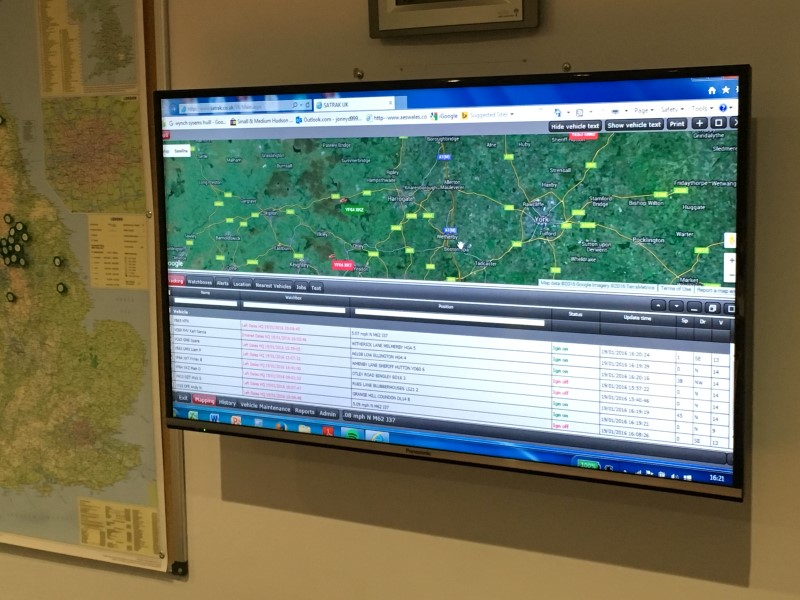 Dales Water Vehicle Tracking
