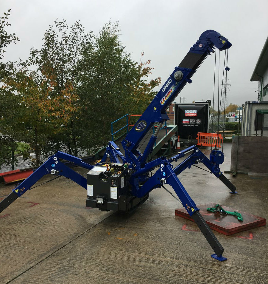 Dales Water Crane Hire